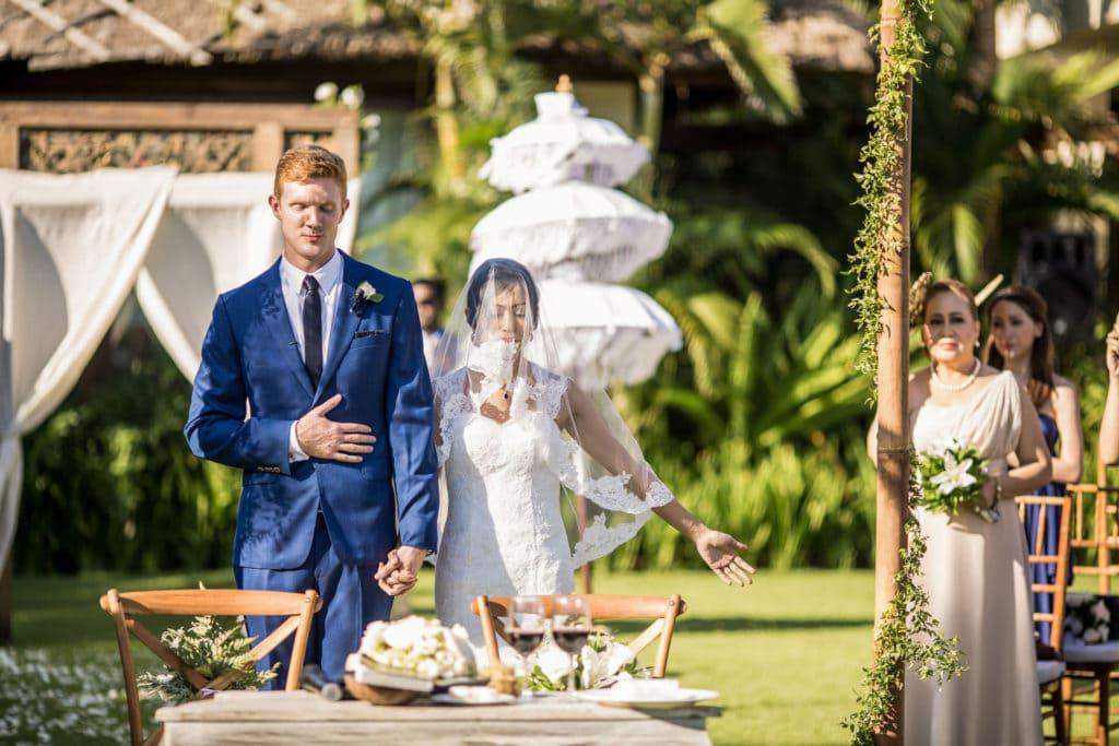 Bali Wedding Photography - Shalimar Villa Estate Wedding