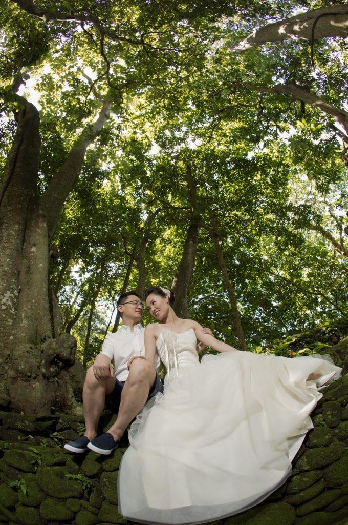 Bali pre-wedding photo